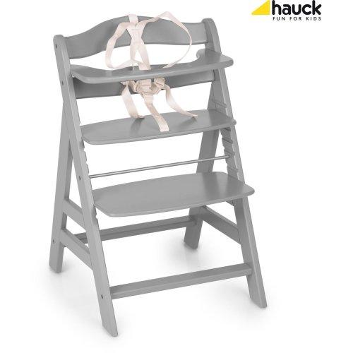 Hauck Alpha+ Wooden Highchair - Grey