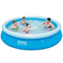 Bestway Fast Set Round Inflatable Swimming Pool 366 x 76 cm 57273