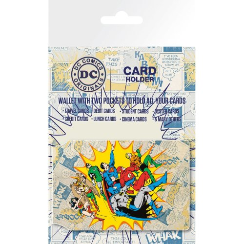 Dc Comics Heroes and Villians Travel Pass Card Holder
