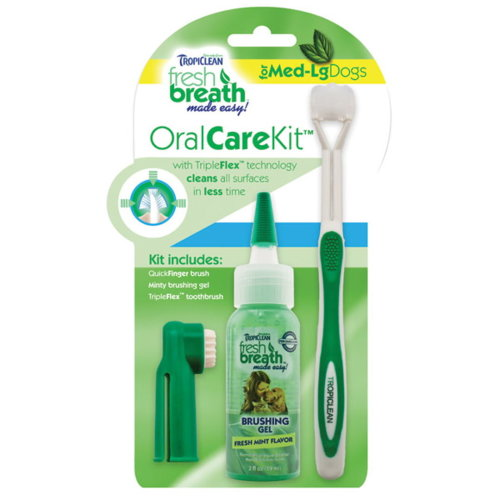 Tropiclean Oral Care Kit Large