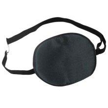Adult Kids Amblyopia Strabismus Lazy Eye Adjustable Soft Pirate Eye Patch Single Eye Mask (Adult) ,h