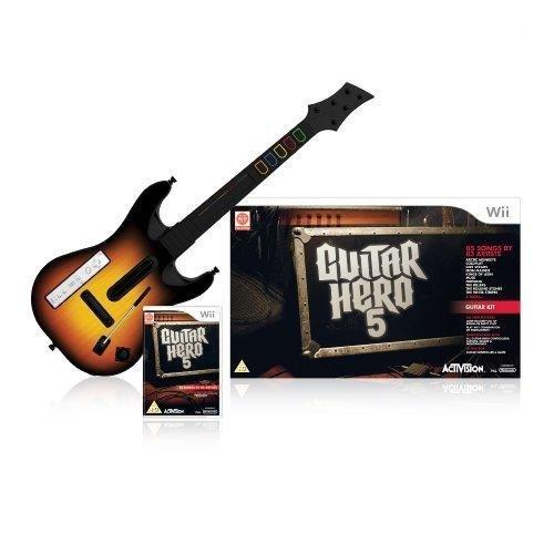Guitar Hero 5 - Guitar Bundle (Wii)