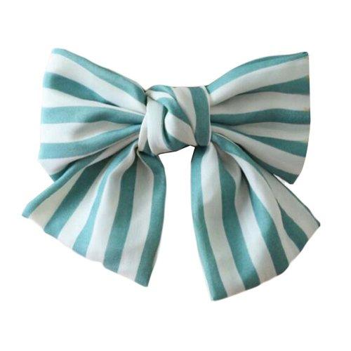 Hair Clip Handmade Hair Barrette Hair Bow - French Barrette Type Chiffon Bowknot