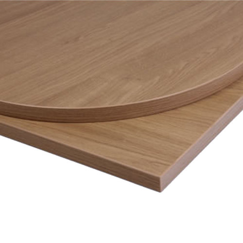 Taybon Laminate Table Top - Oak Round - 700mm