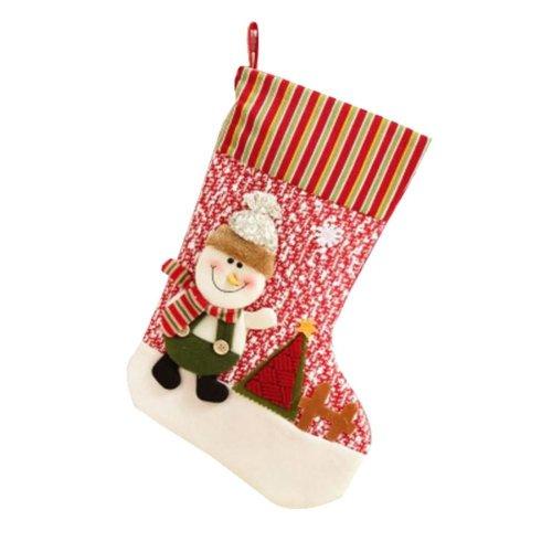 High-quality Big Children's Christmas Stocking Gift Bag Storage Bags,Elk