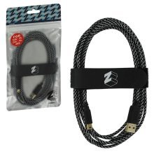 ZedLabz Ultra 3M USB Gold Plated Charge Cable - Nintendo 3DS 2DS and DSi