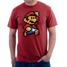 9ac336d9 Super Mario Pixel Men's T-Shirt. -. £15.95. Free. Cloud City 7 · Karate Kid  Sweep The Leg Street Fighter ...