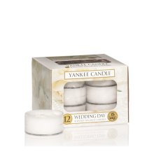 Yankee Candle Tea Light Candles, Wedding Day, Pack of 12