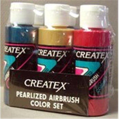 Alvin 5811-00 Createx Airbrush Pearlized Set 2oz