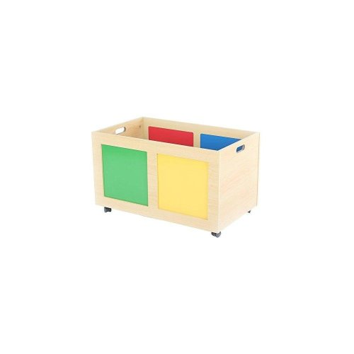Tot Tutors Primary Focus Rolling Toy Box