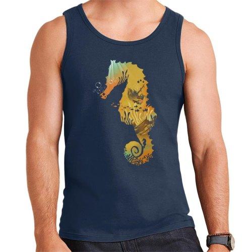Seahorse Treasure Men's Vest