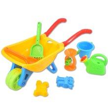 deAO Toys Wheelbarrow & Garden Accessories Set | Kids' Gardening Playset