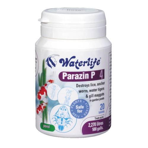 Waterlife Parazin P 20 Tabs