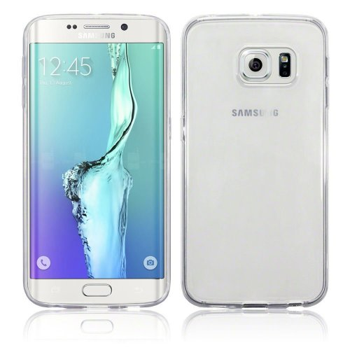 InventCase TPU Gel Case Cover Skin with Screen Protector for Samsung Galaxy S6 edge+ Plus 2015