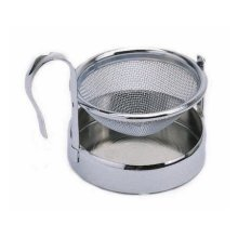 Le'xpress Stainless Steel Tea Strainer And Stand - Kitchen Craft Lexpress Boxed -  tea strainer stand stainless steel kitchen craft lexpress boxed