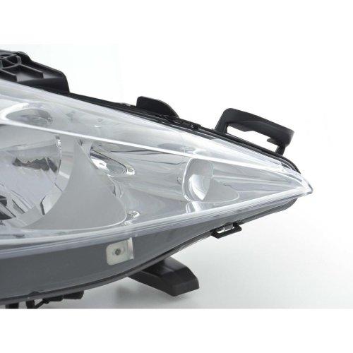 Peugeot 207 5/2010-> Headlight Headlamp Drivers Side O/s