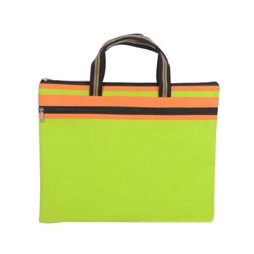 Portable Document Bag Canvas Information Bag Creative Student School Bag [G]