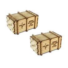 Bachmann Industries Machinery Crates Kit (2 Pack)