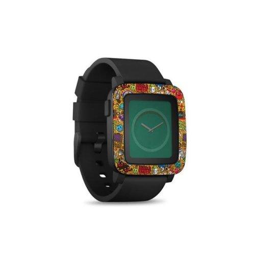 DecalGirl PSWT-PSYCH Pebble Time Smart Watch Skin - Psychedelic