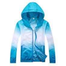 Sun Protective Clothing Women's Clothing Raincoat Long Sleeve Shirt Waterproof