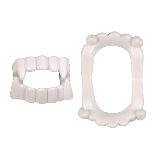 6 Plastic White Teeth