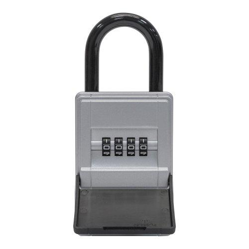 ABUS 77454KeyGarage Key Safe 737Mini with bracket, silver