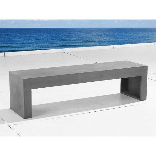 Garden Beton Bench - Concrete - Outdoor Furniture - 150cm-  TARANTO