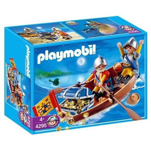 Playmobil Treasure Transporter with Rowboat