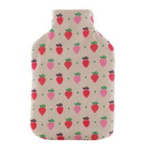 Warm Cute Hot-Water Bottle Water Bag Water Injection Handwarmer Pocket Cozy Comfort,E
