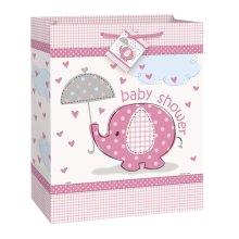 Umbrellaphants Gift Bag Pink