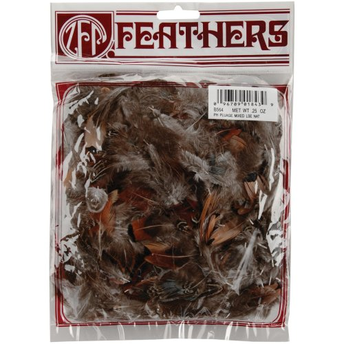 Pheasant Plumage Feathers .25oz-Natural