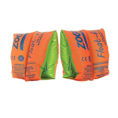 Zoggs Children's Safe Float Arm Bands - Orange, 1-3 Years up to 15 kg
