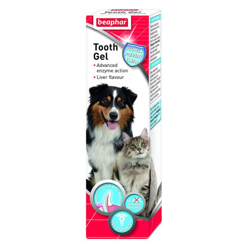 Beaphar Tooth Gel for Dogs & Cats 100g