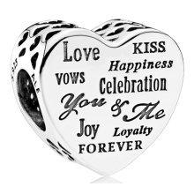 Pandora Celebration Heart Charm - 792060