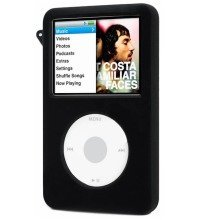 Digiflex Black Silicone Rubber Cover Case for Ipod Classic 80gb 120gb