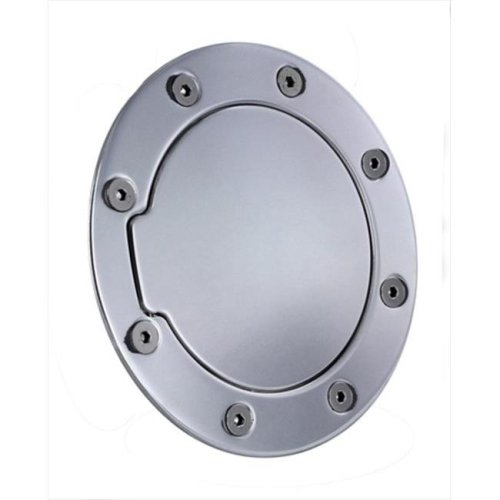 ALL SALES 6090 Brushed Billet Aluminum Fuel Door