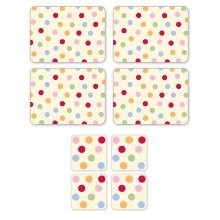 Cooksmart SPOTS set of 4 placemats or coasters