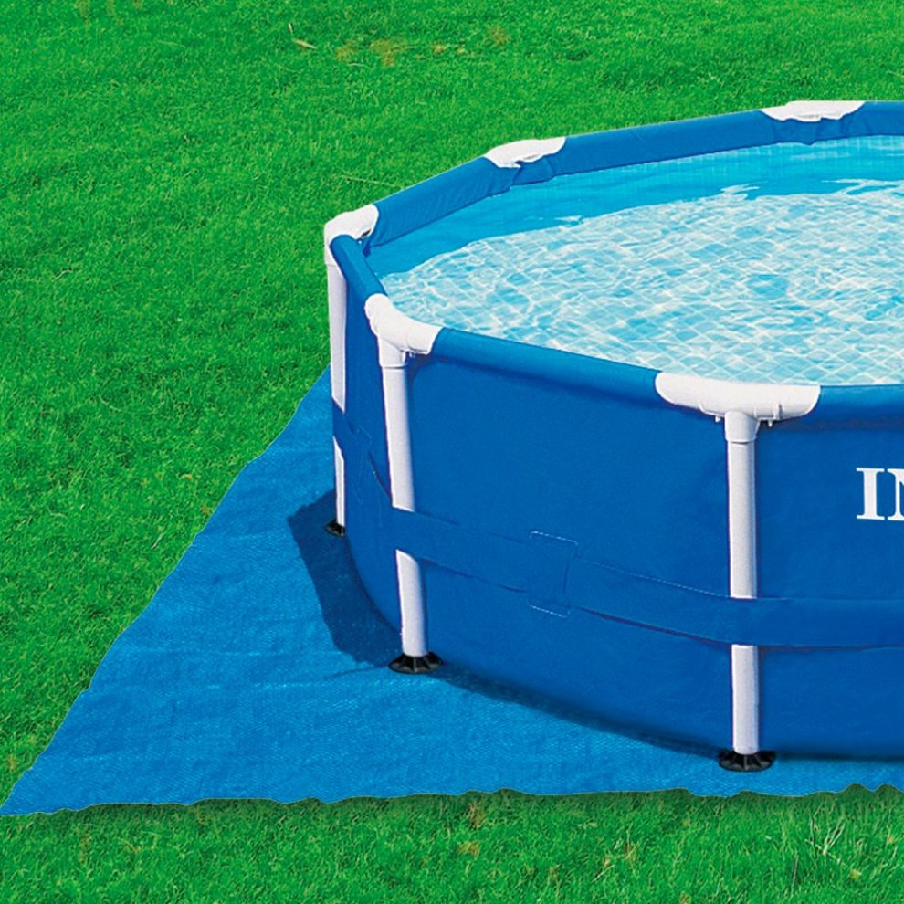 Intex Ground Cloth For Swimming Pools Blue 472 X Cm 1