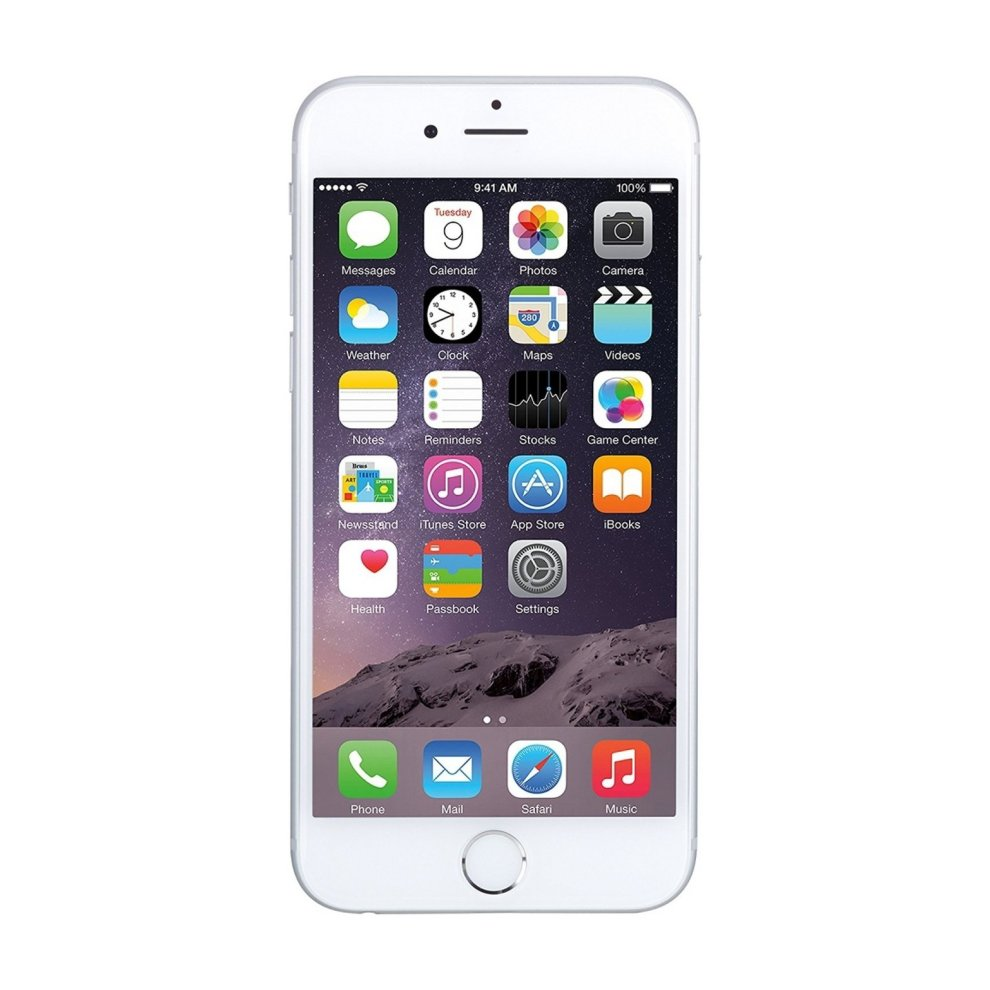T-Mobile, 64GB Apple iPhone 6 - Silver