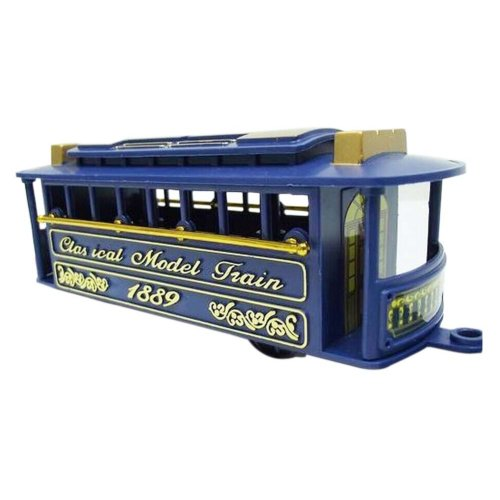 2 Pieces Simulation Railway Carriages Toy/Train Car Toy, K(14.5*6*5.5CM)