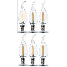 1 LED BC Bayonet Cap Candle Bulb Energy Class A+ 20 X Energizer B22d 6 W