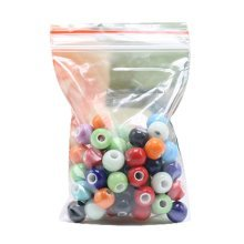 Set of 100 Ceramic 6mm Beads for DIY Craft/Necklace/Bracelet-Dessert [C]
