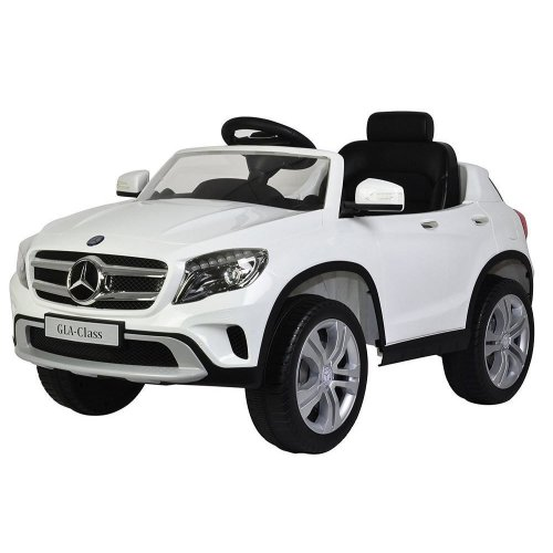 Toyrific Kids Mercedes Benz GLA Electric Ride-On Car Toy White 12V WB-TY5839WH