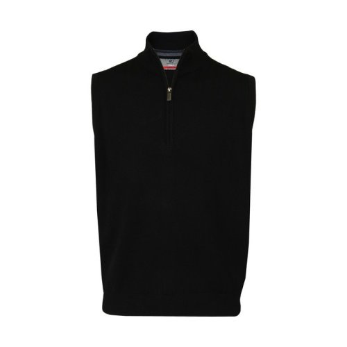 ProQuip Half Zip Merino Water Repellent Sleeveless Jumper