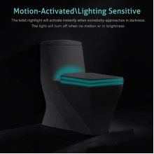 Colorful Closestool Induction Sense LED Night Light Motion Activated Toilet Night Lamp