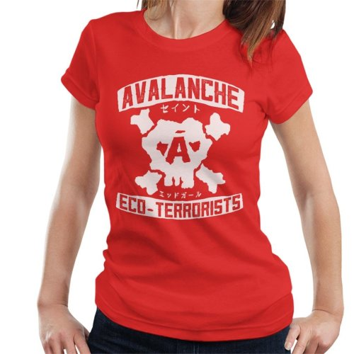 Avalanche Eco Terrorists Final Fantasy VII Women's T-Shirt