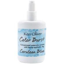 Ken Oliver Color Burst Powder 6gm-Cerulean Blue