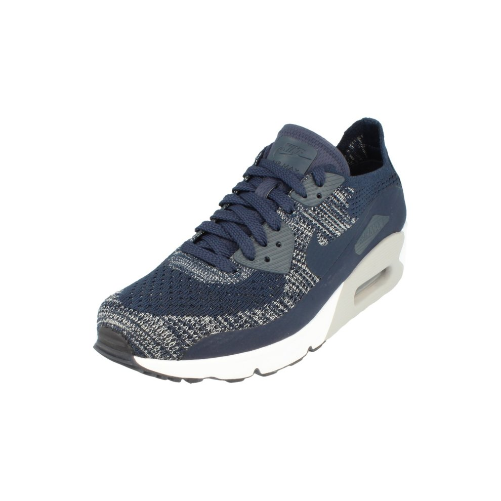 d24b5cfcf2 Nike Air Max 90 Ultra 2.0 Flyknit Mens Running Trainers 875943 Sneakers  Shoes ...