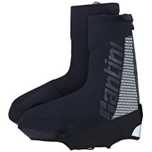 Santini 365 Neo Optic Waterproof Overshoe - Black, X-large - Sp577neo Black -  santini 365 sp577neooptic waterproof overshoe black xlarge blacks