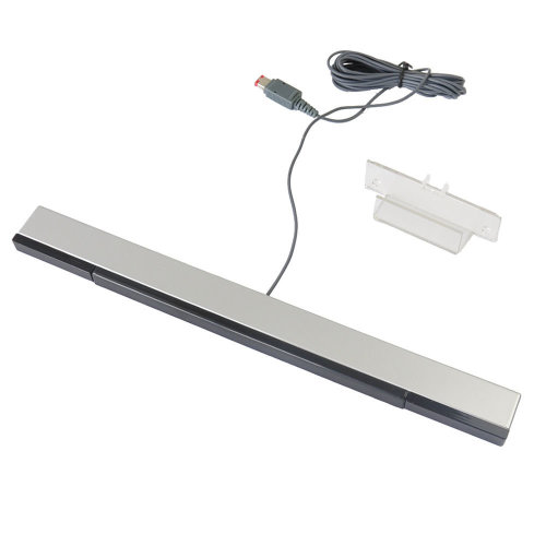 Nintendo Wii Wired Infrared Ray Sensor Bar & Stand IR Signal Infra red essential